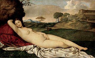 schlummernde Venus