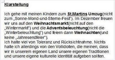 Martinsumzug 2016
