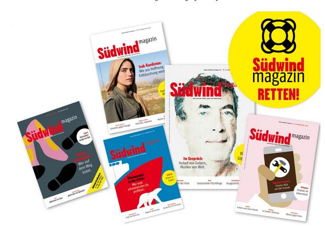Magazin Südwind retten