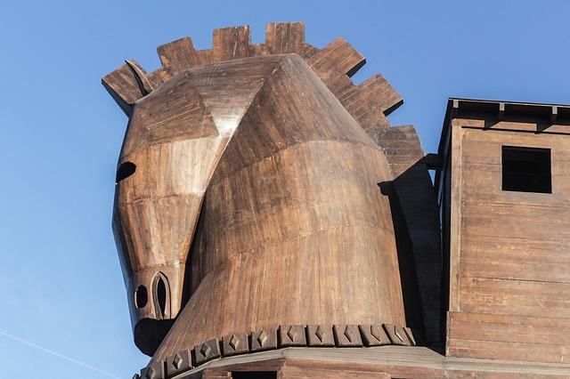 das Trojanische Pferd - Ilias von Homer