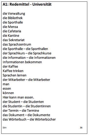 Wortschatz - Universität