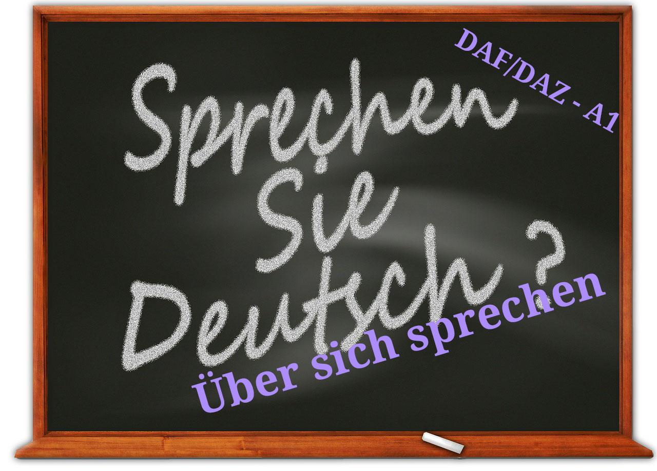 Deutsch - Über sich sprechen