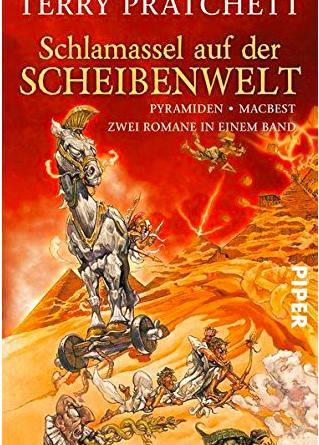 Buchcover - scheibenwelt